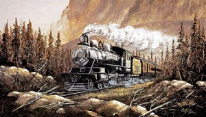 Imperial Limited Steam Engine, 1900