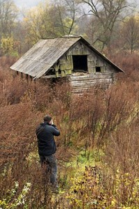 Fine Art Photography: On location rural